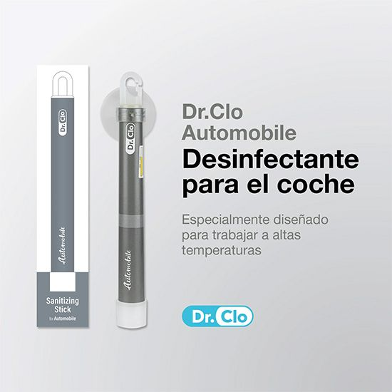 BARRA DESINFECCION 99,9% AUTOMOVIL ALTAS TEMPERATURAS DR.CLO COVID 19