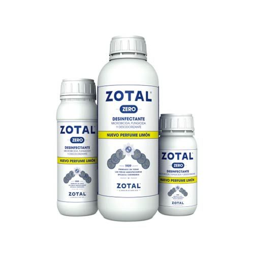 BOTE DESINFECTANTE ZOTAL ZERO (PERF.LIMON) 250ML